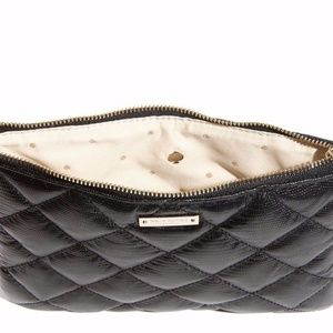 KATE SPADE BLACK QUILTED LITTLE GIA BAG NWT